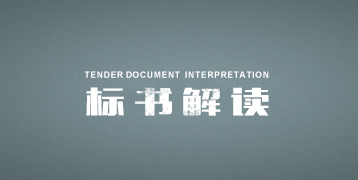 标书解读 Interpretation of tenders